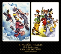 KINGDOM HEARTS 10th Anniversary Fan Selection -Melodies & Memories-