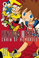 Couverture du manga Kingdom Hearts Chain of Memories Vol.1