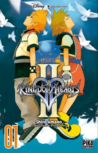 ~♥  •  KINGDOM HEARTS  •  ♥~ - Page 2 Manga_kh2_tome1-fr