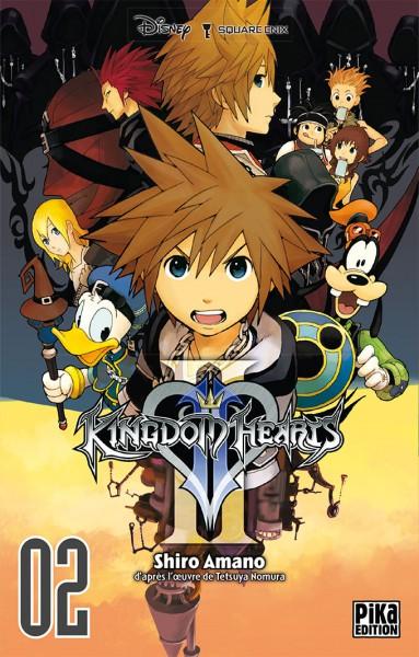 ~♥  •  KINGDOM HEARTS  •  ♥~ - Page 2 Manga_kh2_tome2-fr