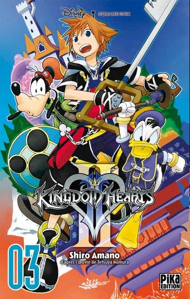 ~♥  •  KINGDOM HEARTS  •  ♥~ - Page 3 Manga_kh2_tome3-fr